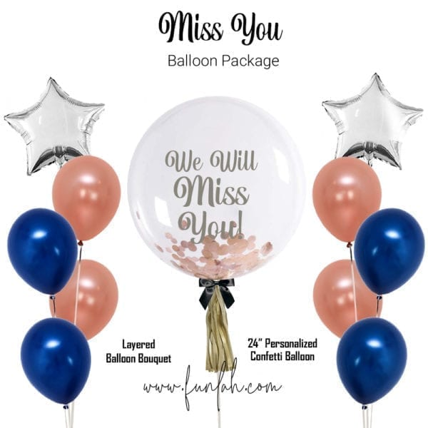 Balloon Package miss you