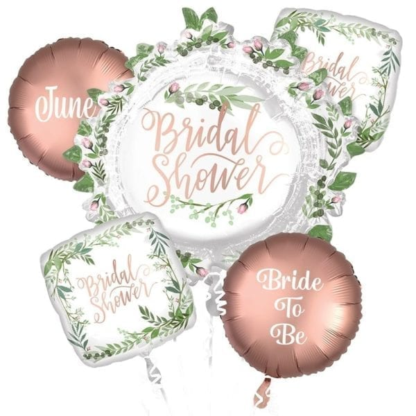 Bride to be bridal shower balloon bouquet-min