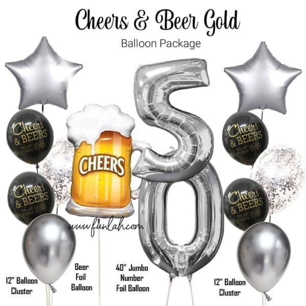 Cheers to Beer silver