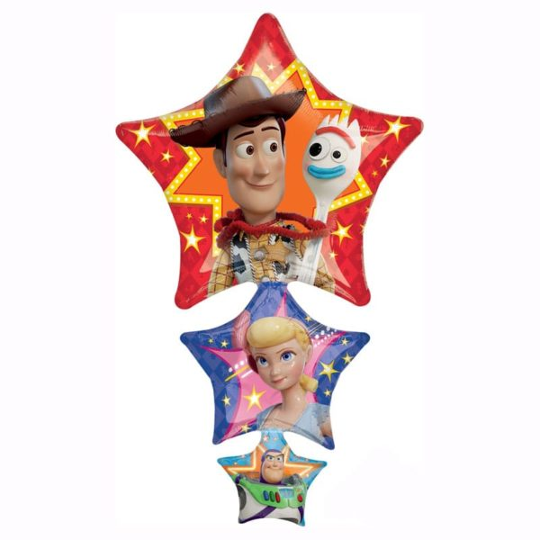 Toy story 4 Stars Helium foil balloon