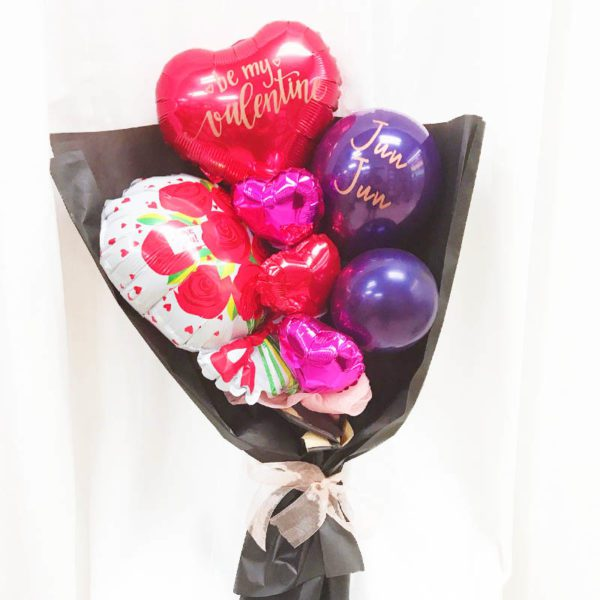I love you Valentines Special Hand Balloon Bouquet