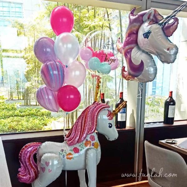 Unicorn party balloon package
