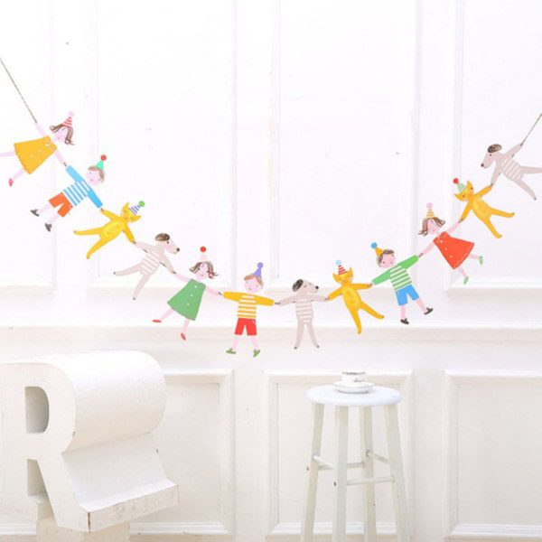 Cats and Dogs Party Decoration Paper Bunting