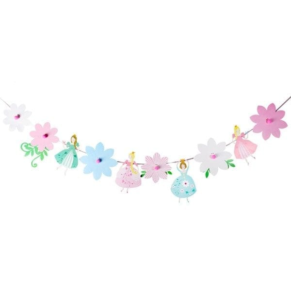 Flower Princess Party Bunting