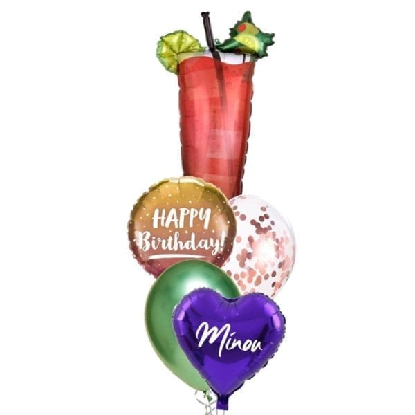 Bloody Mary Balloon Bouquet