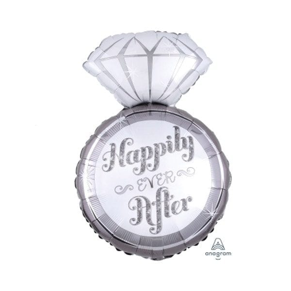 Ring Happily Ever After Foil Balloon