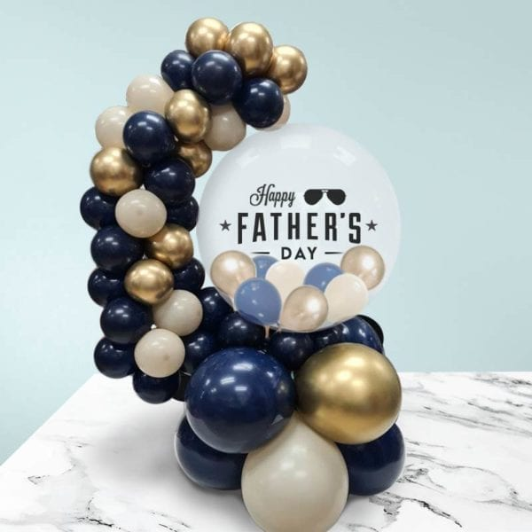 Happy Fathers Day Centerpiece Balloon