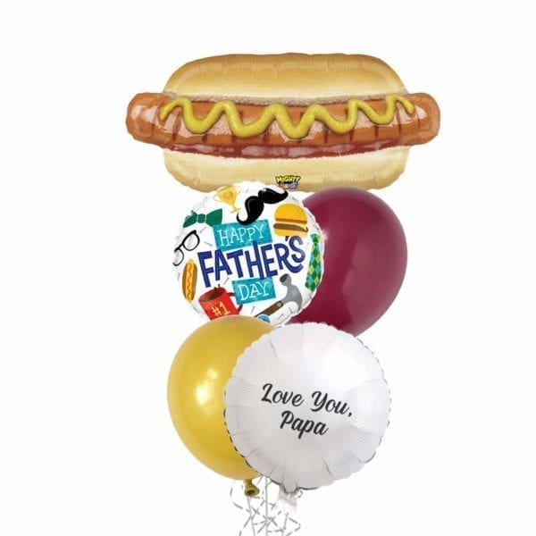 Happy Fathers Dog Day Balloon Bouquet