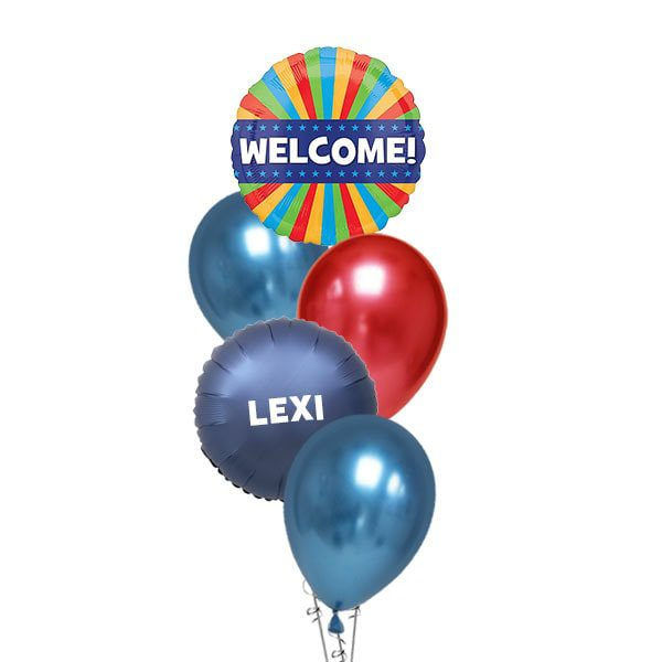Welcome-Red-Blue-Layer-Balloon-Bouquet
