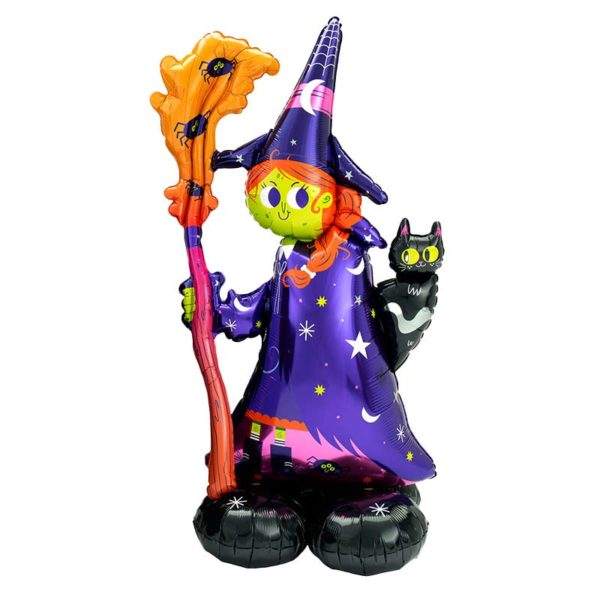 55 inch Halloween Scary Witch Airloonz