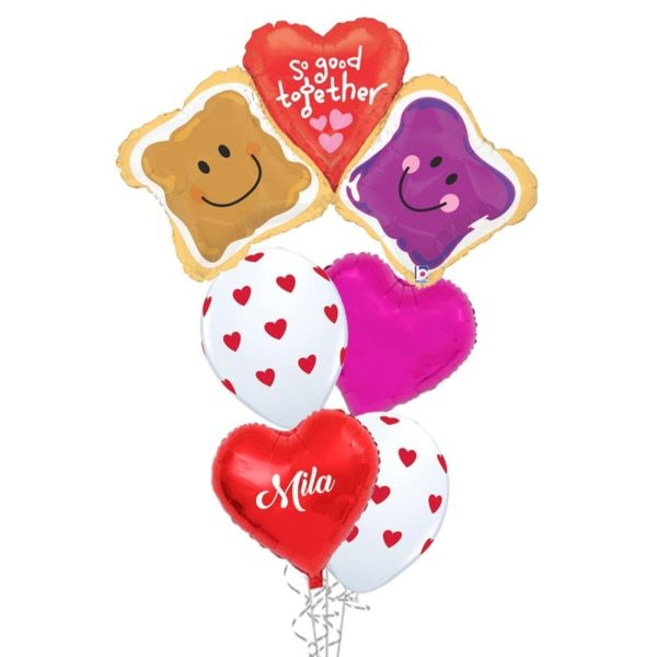So good together peanut butter and jam balloon bouquet