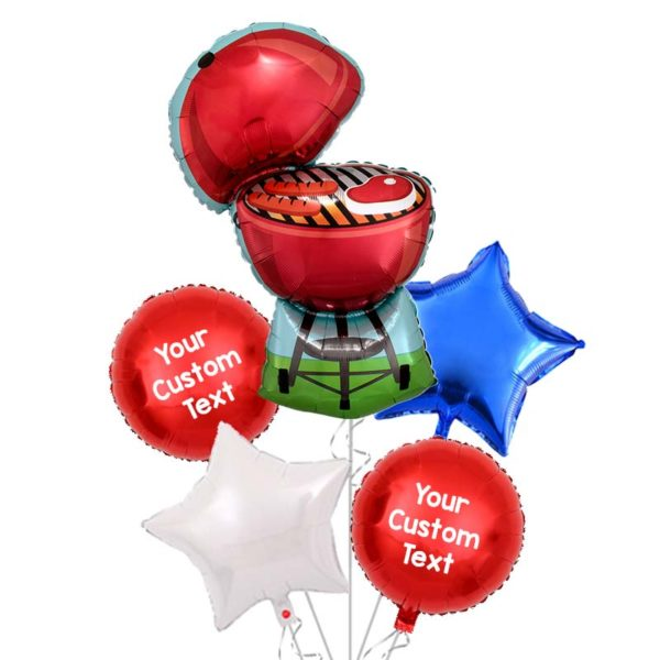 Red-BBQ-Grill-Balloon-Bouquet